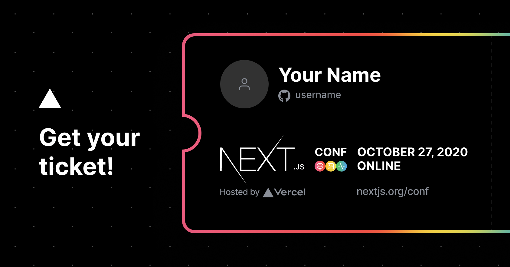 Next.js conf is coming